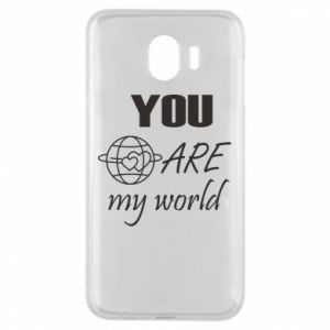 Phone case for Samsung J4 You are my world Earth
