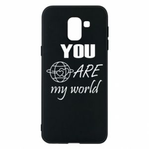 Phone case for Samsung J6 You are my world Earth
