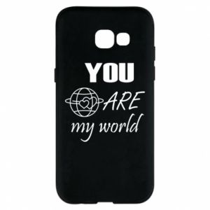 Phone case for Samsung A5 2017 You are my world Earth