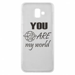 Etui na Samsung J6 Plus 2018 You are my world Earth