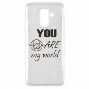 Phone case for Samsung A6+ 2018 You are my world Earth