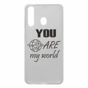 Phone case for Samsung A60 You are my world Earth