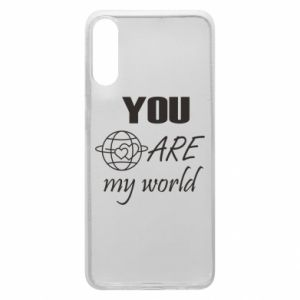 Phone case for Samsung A70 You are my world Earth
