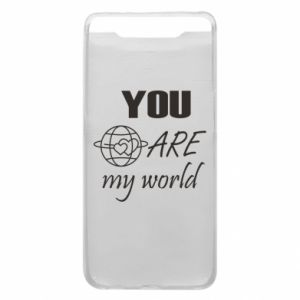 Phone case for Samsung A80 You are my world Earth