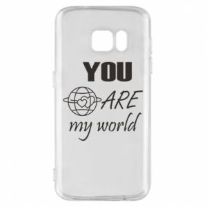 Etui na Samsung S7 You are my world Earth