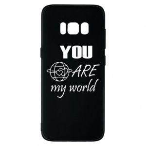 Etui na Samsung S8 You are my world Earth