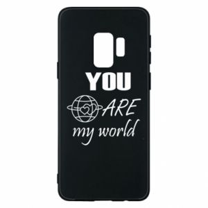 Etui na Samsung S9 You are my world Earth