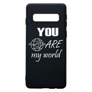 Etui na Samsung S10 You are my world Earth
