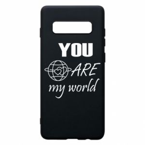 Etui na Samsung S10+ You are my world Earth