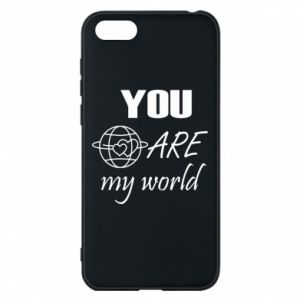 Etui na Huawei Y5 2018 You are my world Earth