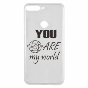 Etui na Huawei Y7 Prime 2018 You are my world Earth