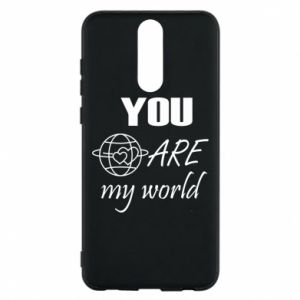 Phone case for Huawei Mate 10 Lite You are my world Earth