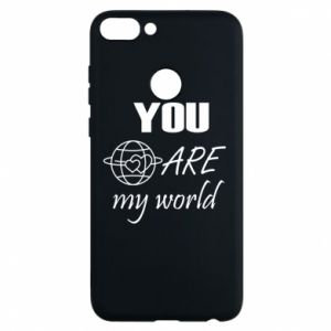 Phone case for Huawei P Smart You are my world Earth