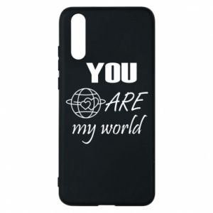 Phone case for Huawei P20 You are my world Earth