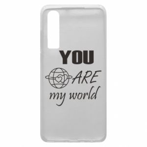 Phone case for Huawei P30 You are my world Earth