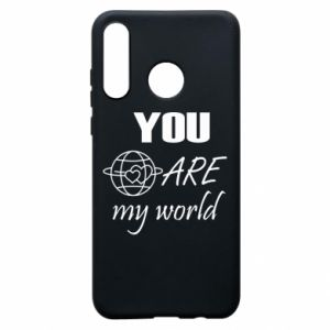 Phone case for Huawei P30 Lite You are my world Earth