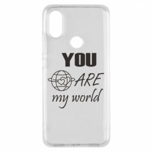 Phone case for Xiaomi Mi A2 You are my world Earth