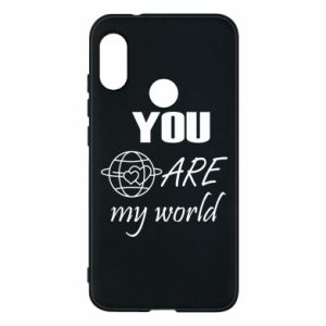 Phone case for Mi A2 Lite You are my world Earth