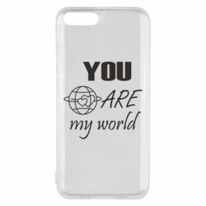 Phone case for Xiaomi Mi6 You are my world Earth