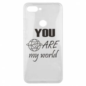 Phone case for Xiaomi Mi8 Lite You are my world Earth