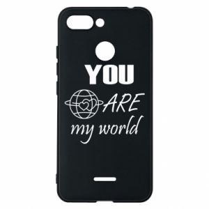 Phone case for Xiaomi Redmi 6 You are my world Earth