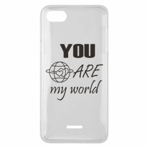 Phone case for Xiaomi Redmi 6A You are my world Earth