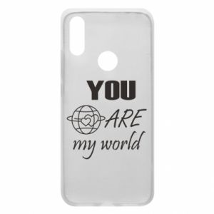 Phone case for Xiaomi Redmi 7 You are my world Earth