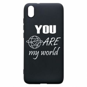 Phone case for Xiaomi Redmi 7A You are my world Earth