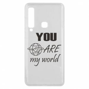 Phone case for Samsung A9 2018 You are my world Earth
