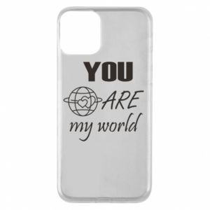 Etui na iPhone 11 You are my world Earth