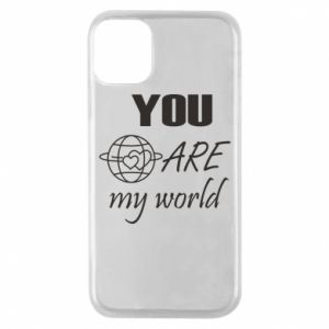 Etui na iPhone 11 Pro You are my world Earth