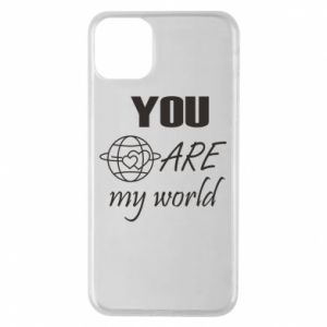 Etui na iPhone 11 Pro Max You are my world Earth