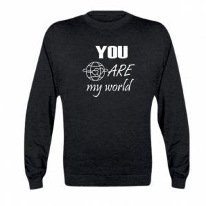 Bluza dziecięca You are my world Earth