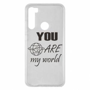 Etui na Xiaomi Redmi Note 8 You are my world Earth