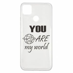 Etui na Xiaomi Redmi 9c You are my world Earth