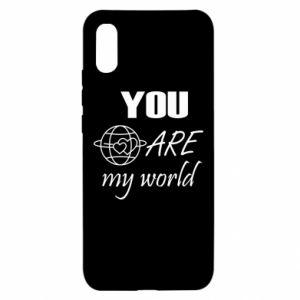Etui na Xiaomi Redmi 9a You are my world Earth