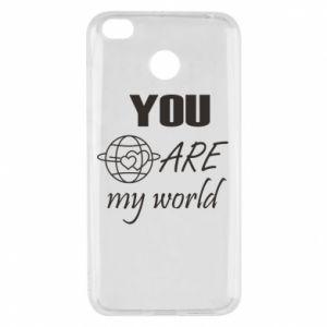 Etui na Xiaomi Redmi 4X You are my world Earth