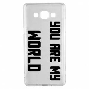 Etui na Samsung A5 2015 You are my world