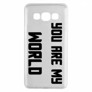 Etui na Samsung A3 2015 You are my world