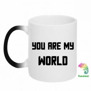 Magic mugs You are my world