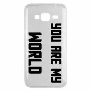 Etui na Samsung J3 2016 You are my world