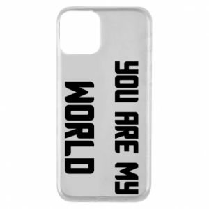 Etui na iPhone 11 You are my world