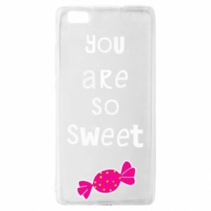 Huawei P8 Lite Case You are so sweet
