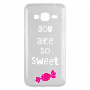 Phone case for Samsung J3 2016 You are so sweet - PrintSalon
