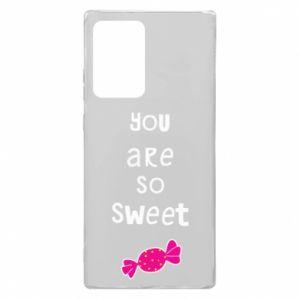 Etui na Samsung Note 20 Ultra You are so sweet