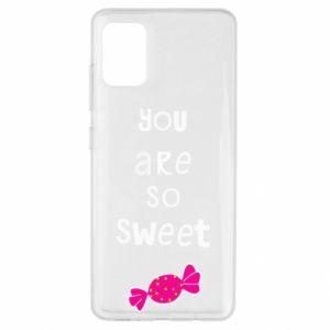 Etui na Samsung A51 You are so sweet