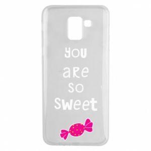 Etui na Samsung J6 You are so sweet - PrintSalon