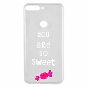 Phone case for Huawei Y7 Prime 2018 You are so sweet - PrintSalon