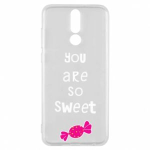 Phone case for Huawei Mate 10 Lite You are so sweet - PrintSalon