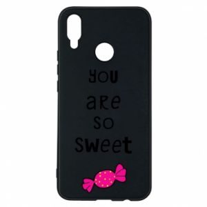 Phone case for Huawei P Smart Plus You are so sweet - PrintSalon